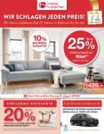 Möbel Hubacher Jubiläums-Rabatte - al 16.08.2020