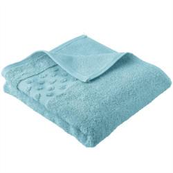 handtuch mit Tupfen-Bordüre