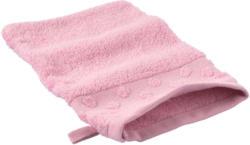 Waschhandschuh mit Tupfen-Bordüre (Nur online)