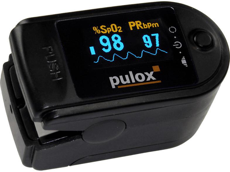 PULOX PO-200  schwarz Pulsoximeter