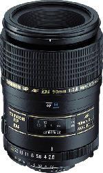 TAMRON 272EE 90 mm f/2.8 Di, SP (Objektiv für Canon EF-Mount, Schwarz)