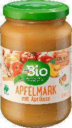 dmBio Fruchtmark Apfel mit Aprikose