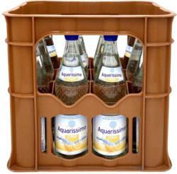 Aquarissima Orange oder Zitrone 12 x 0,7 Liter, jeder Kasten