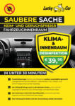 Lucky Car Klima- & Innenraumdesinfektion - bis 31.08.2020