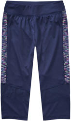 Mädchen Sport-Capri-Leggings mit Mesh-Einsatz