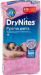dm DryNites Pyjama Pants for Girls Nacht-Höschen (27-57 kg)