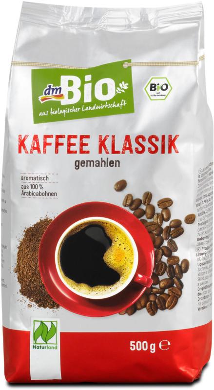 dmBio Kaffee Klassik gemahlen