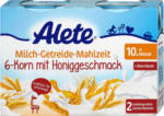 dm Alete Milch-Getreide-Mahlzeit 6-Korn mit Honiggeschmack