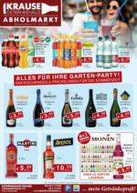 Getränkehaus Krause Flugblatt - August 2020
