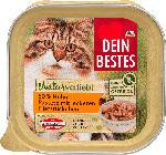 dm-drogerie markt Dein Bestes Naturverliebt Nassfutter für Katzen, Huhn in Pastete