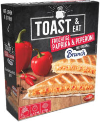 Condeli Toast & Eat Paprika & Peperoni mit Brunch