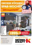 Möbel Kraft Große Küchen Spar-Wochen - bis 29.09.2020