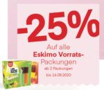 MPREIS -25% auf alle Eskimo Vorratspackungen - bis 16.08.2020