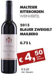 2015 Blauer Zweigelt Mailberg