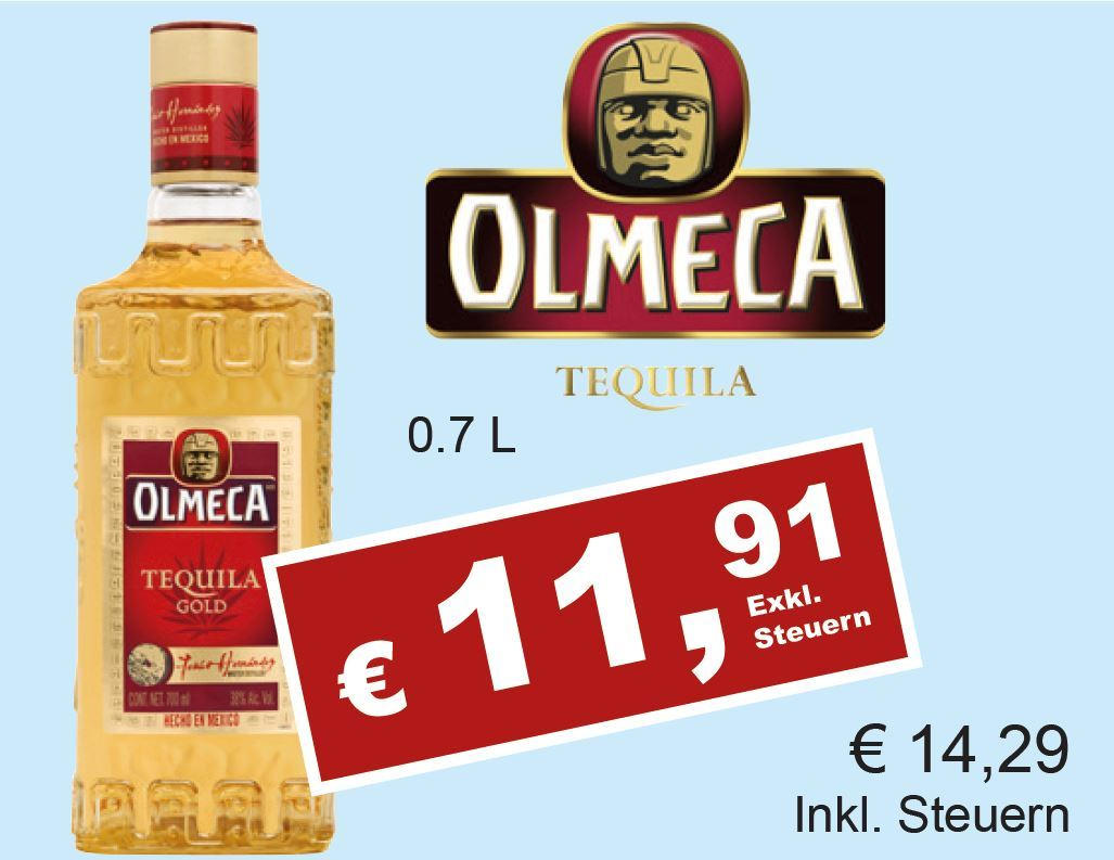 Tequila Gold Preis