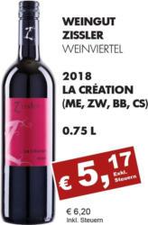 2018 La Création (Merlot, Zweigelt, Blauburger, Cab. Sauvignon)