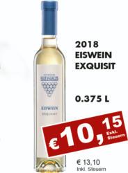 2018 Eiswein Exquisit
