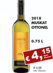 2018 Muskat Ottonel