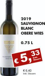 2019 Sauvignon Blanc Obere Wies