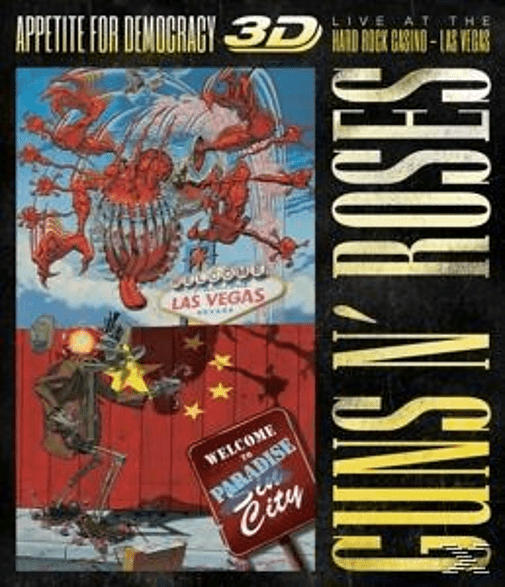 Appetite For Democracy 3d: Live