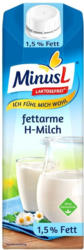 MinusL H-Milch 1,5/3,5 % Fett, jede 1-Liter-Packung