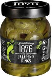 Hengstenberg Hot Dog Gurken 370ml, Burger Chips oder Jalapeno Rings 250ml jedes 250-ml-/ 370-ml-Glas/185 g Abtropfgewicht