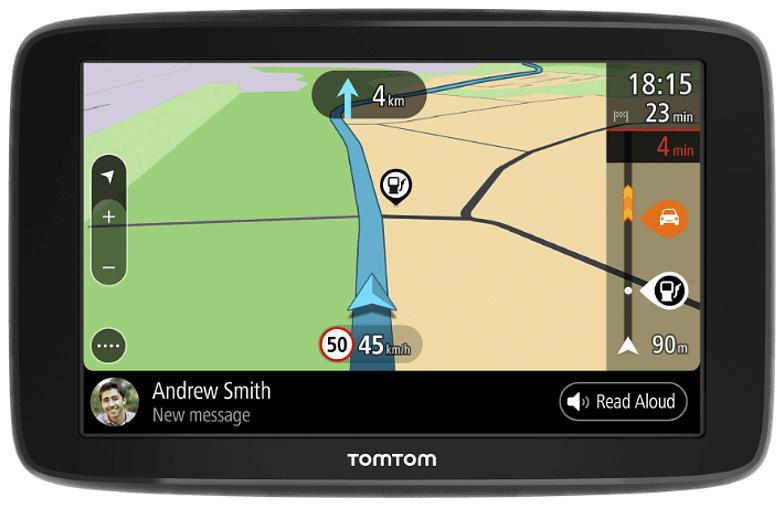Navigationsgerät GO Basic (6 Zoll, Stauvermeidung dank TomTom Traffic, Karten-Updates Europa)