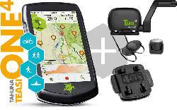 Outdoor-Navigationsgerät One4 inkl. Speed Sensor + 2 Halterung