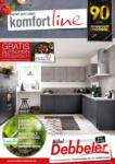 Möbel Debbeler Komfortline Küchenspezial - bis 13.09.2020