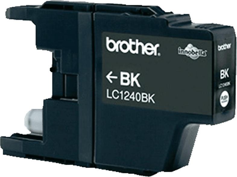 BROTHER Original Tintenpatrone Schwarz (LC-1240BK)
