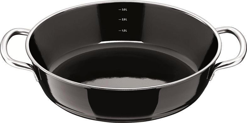 SILIT 21.1127.2694 Professional Schmorpfanne (Stahl, Beschichtung: Keramik, 280 mm)