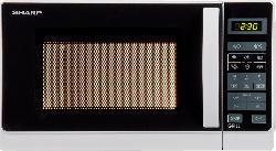 SHARP R-642 WW Mikrowelle (800 Watt)