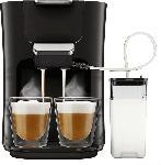 MediaMarkt PHILIPS SENSEO® HD6570/60 Latte Duo Padmaschine (Klavierlackschwarz)