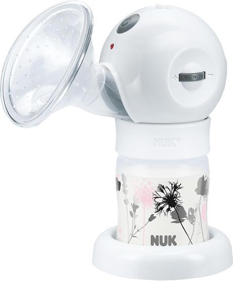 NUK LUNA Milchpumpe Weiß