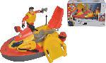 MediaMarkt SIMBA TOYS Feuerwehrmann Sam JetSki Juno Spielzeug Jet Ski, Mehrfarbig