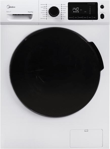 MIDEA WT 7.860 i Waschtrockner (8 kg/6 kg, 1600 U/Min.)