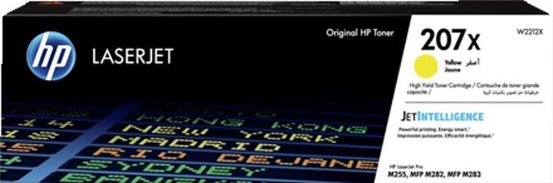 HP 207X Toner Gelb