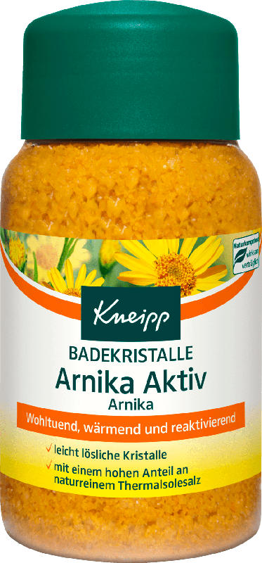 Kneipp Badesalz Arnika Aktiv