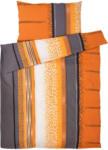 OTTO'S Bettwäsche mit gemusterten Streifen (Preis für kleinste Grösse)