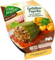 Chef Menü Gefüllter Paprika
