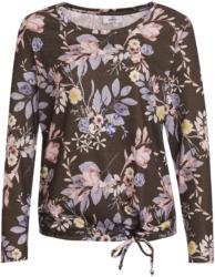 Damen Langarmshirt mit Blumenmuster