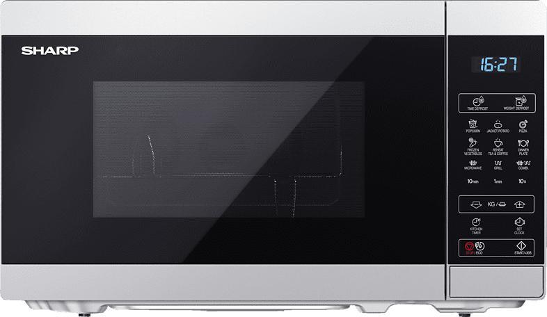 SHARP YC-MG02ES Mikrowelle (800 Watt)