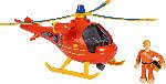 Media Markt SIMBA TOYS Sam Hubschrauber Wallaby mit Figur Spielzeugfahrzeug, Mehrfarbig