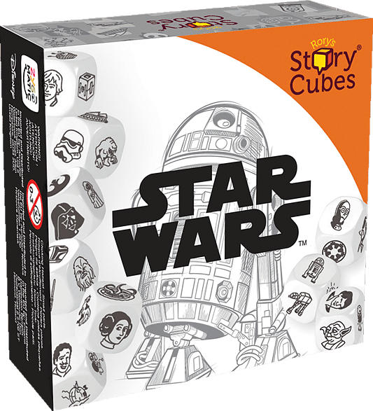 ZYGOMATIC Story Cubes Star Wars Gesellschaftsspiel, Mehrfarbig