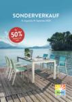 Hunn Gartenmöbel Sonderverkauf - bis 19.09.2020