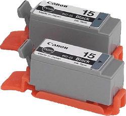 CANON BCI-15 BK Tintenpatrone Schwarz (8190A002)