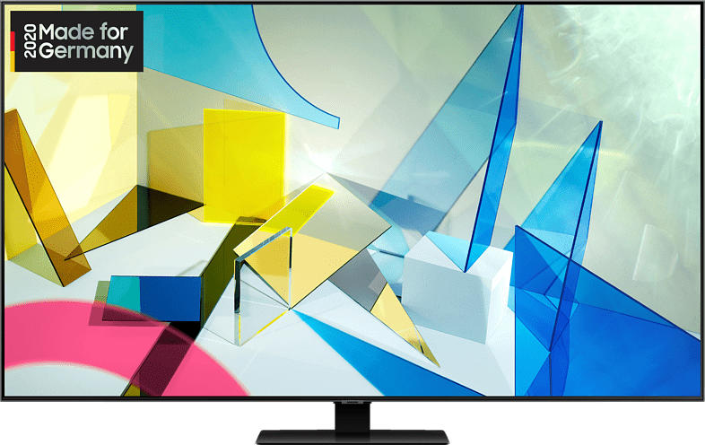 SAMSUNG GQ55Q80T QLED TV (Flat, 55 Zoll/138 cm, UHD 4K, SMART TV)