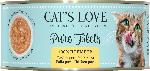 dm-drogerie markt CAT'S LOVE Nassfutter für Katzen, Huhn pur Filets