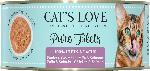 dm-drogerie markt CAT'S LOVE Nassfutter für Katzen, Huhn & Lachs pur Filets