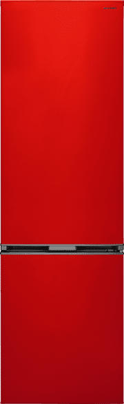 SHARP SJ-BA05IMXR2-EU  Kühlgefrierkombination (A++, 222 kWh/Jahr, 1800 mm hoch, Rot)
